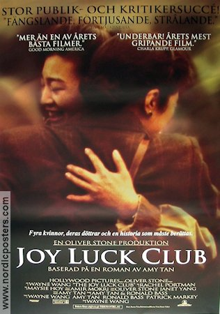 the bond between the main characters of the joy luck club by amy tan