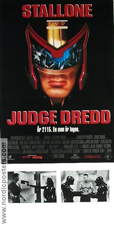 Judge Dredd 1994 Movie poster Sylvester Stallone