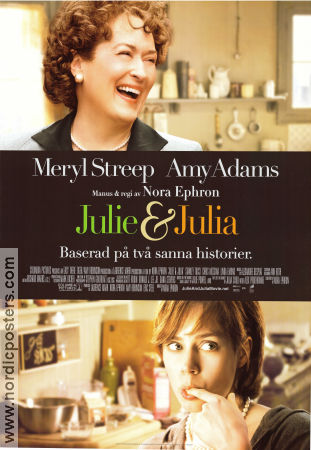 Julie and Julia 2009 poster Meryl Streep Nora Ephron