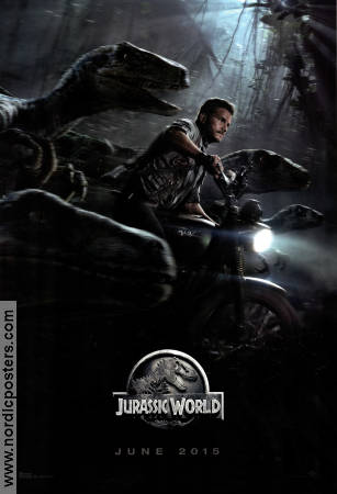 Jurassic World 2015 Movie poster Chris Pratt