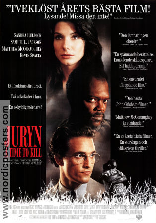 A Time to Kill 1996 poster Sandra Bullock Joel Schumacher