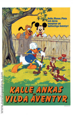 Donald Duck's Fun Festival 1986 Movie poster Kalle Anka