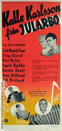 Kalle Karlsson fr�n Jularbo 1952 Movie poster Kalle Jularbo