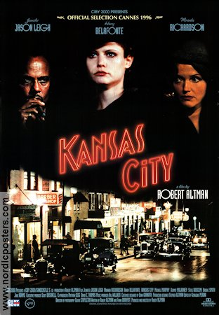 Kansas City 1996 Movie poster Harry Belafonte Robert Altman