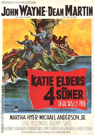 The Sons of Katie Elder 1965 poster John Wayne