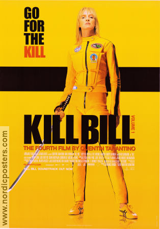 Kill Bill vol 1 2003 poster Uma Thurman Quentin Tarantino