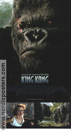 King Kong 2005 Movie poster Naomi Watts Peter Jackson
