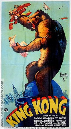 See a larger version of King Kong 1933
