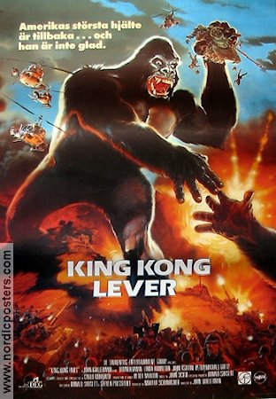 King Kong Lives 1986 Linda Hamilton King Kong