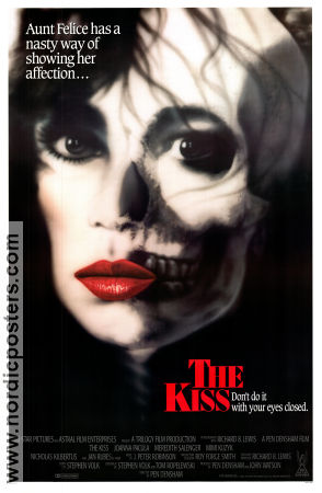 The Kiss 1988 poster Joanna Pacula Pen Densham