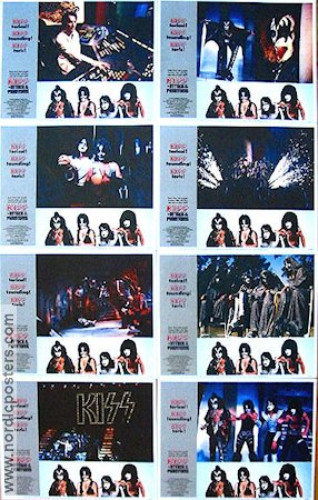 Attack of the Phantoms 1978 lobby card set Kiss
