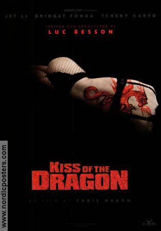 Kiss of the Dragon 2001 Movie poster Jet Li