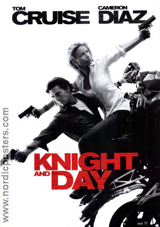 Knight and Day 2010 poster Tom Cruise James Mangold