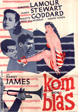 On Our Merry Way 1948 Dorothy Lamour James Stewart Harry James