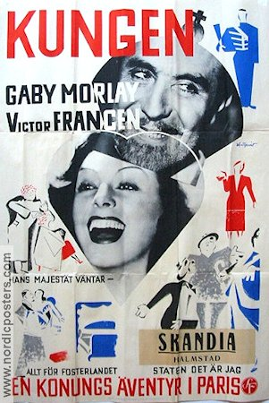 Le Roi 1937 Movie poster Gaby Morlay
