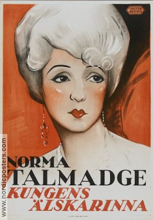 Du Barry Woman of Passion 1930 poster Norma Talmadge