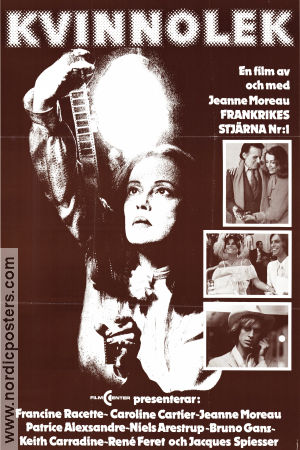 Lumiere 1977 Movie poster Jeanne Moreau