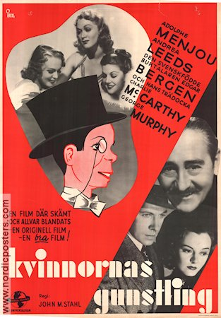 Letter of Introduction 1938 Movie poster Edgar Bergen