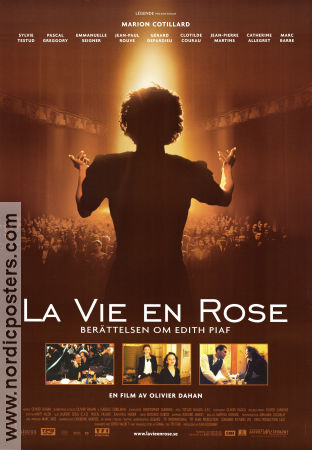 La Vie en Rose 2007 Movie poster Marion Cotillard