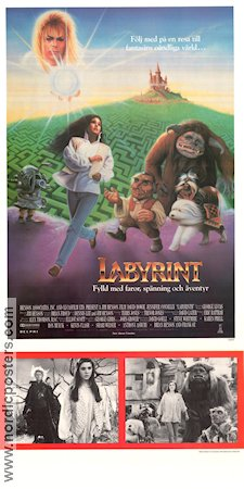 Labyrinth 1986 Jim Henson David Bowie