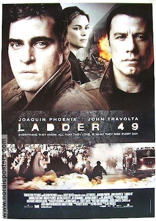 Ladder 49 2004 Movie poster Joaquin Phoenix