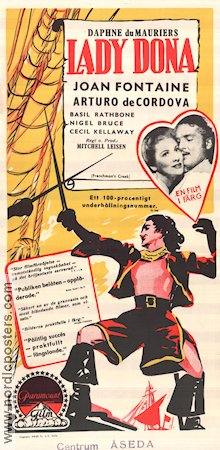 Frenchman's Creek 1944 poster Joan Fontaine
