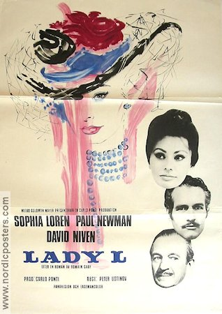 Lady L 1966 Sophia Loren Paul Newman David Niven