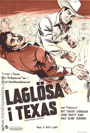 Texas Trouble Shooters 1942 poster Ray Corrigan