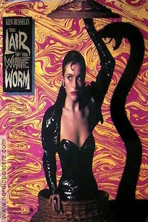 The Lair of the White Worm 1988 poster Amanda Donohoe Ken Russell