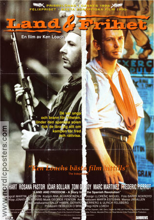 Land and Freedom 1995 poster Ian Hart Ken Loach