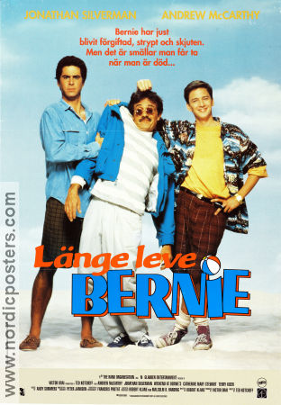 Weekend at Bernies 1989 poster Andrew McCarthy