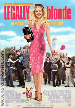 Legally Blonde 2001 poster Reese Witherspoon Robert Luketic