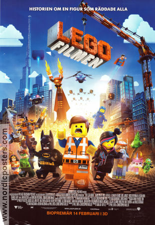 The Lego Movie 2014 poster Chris Pratt Christopher Miller