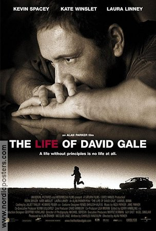 The Life of David Gale 2003 poster Kevin Spacey Alan Parker