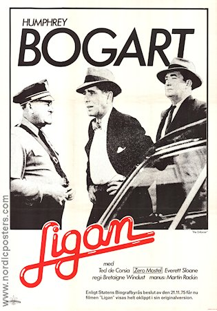 The Enforcer 1960 poster Humphrey Bogart
