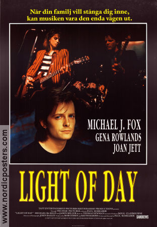 Light of Day 1987 poster Michael J Fox