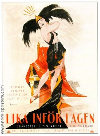 Manslaughter 1922 poster Thomas Meighan