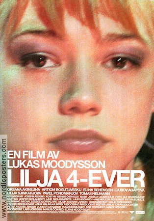 Lilja 4-ever 2002 Movie poster Oksana Akinshina Lukas Moodysson