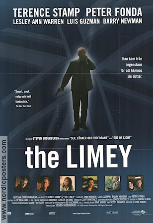 The Limey 1999 poster Terence Stamp Steven Soderbergh