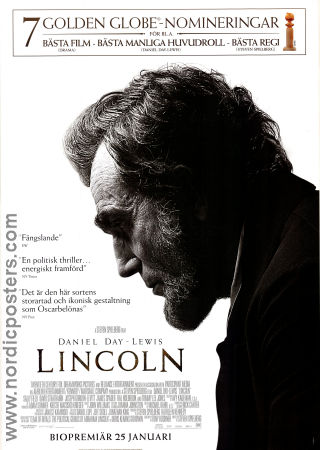 Lincoln 2012 poster Daniel Day-Lewis Steven Spielberg