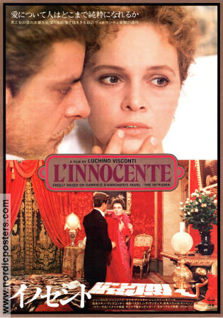 L'innocente 1976 poster Giancarlo Giannini Luchino Visconti