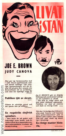 Joan of Ozark 1945 Movie poster Joe E Brown