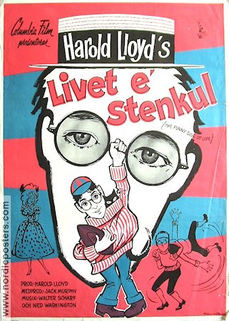 The Funny Side of Life 1964 poster Harold Lloyd Harry Kerwin