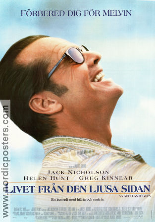 As Good as it Gets 1997 poster Jack Nicholson James L Brooks
