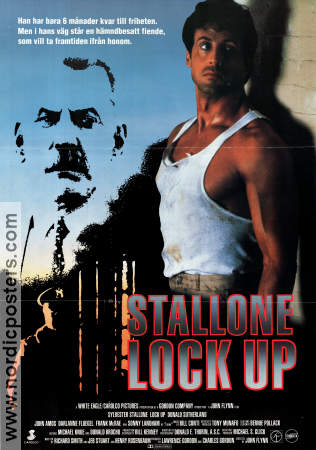 Lock Up 1989 poster Sylvester Stallone