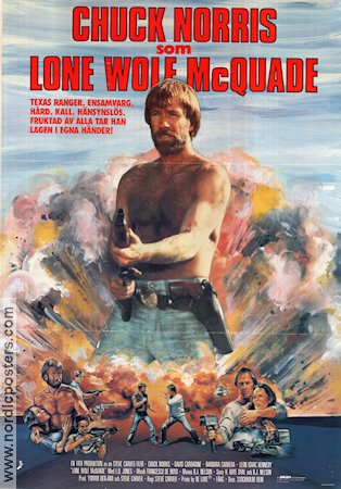 Lone Wolf McQuade 1983 Movie poster Chuck Norris