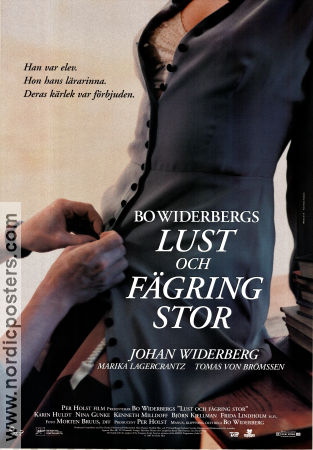 All Things Fair 1995 Movie poster Johan Widerberg Bo Widerberg