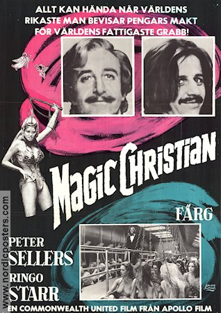 Magic Christian 1970 Ringo Starr Beatles Peter Sellers