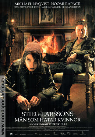 The Girl with the Dragon Tattoo 2009 poster Michael Nyqvist
