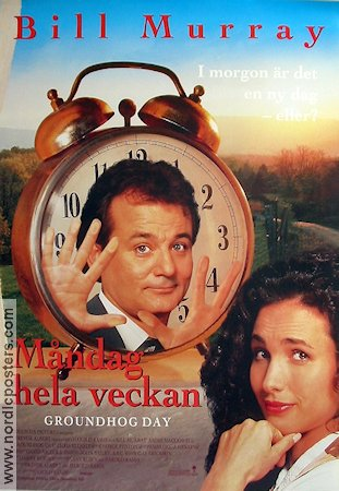 Groundhog Day 1992 Harold Ramis Bill Murray Andie MacDowell